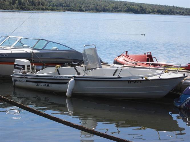 1987 KMV Boats center console - Sault Ste Marie