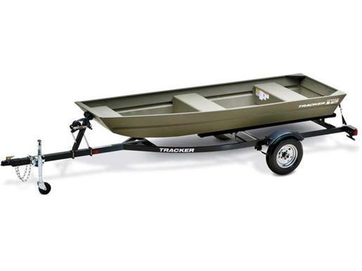 2012 Tracker Boats Topper 1232 Riveted Jon