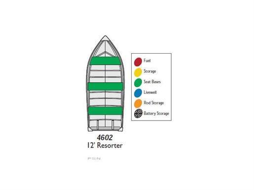 2011 MirroCraft 4602 (12 ft. Resorter)