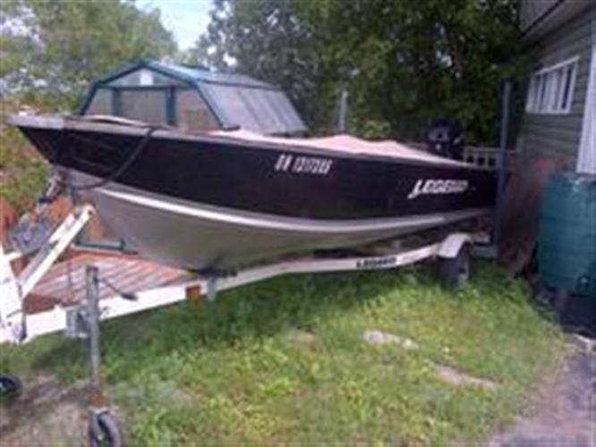 2009 Legend Boats Ltd Pro Sport 16 All options, $9,000 - SUDBURY