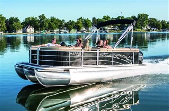 2014 Harris FloteBote Cruiser 200 - Kingston
