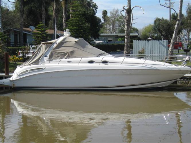 2003 Sea Ray Boats 360 DA white, $109,900
