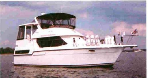1991 Carver 33/350 Aft Cabin