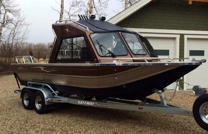 2015 Thunder Jet Boats Yukon Fully loaded - RIMBEY