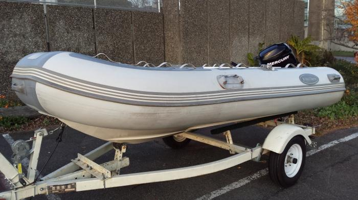 2009 West Marine 350 RIB Hypalon in Vancouver, BC