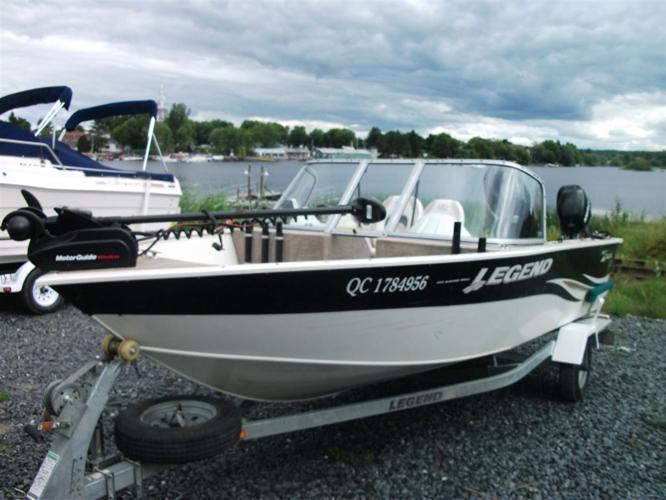 2009 Legend Boats Ltd bateau de peche 16 xterme - Disraéli