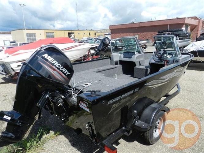 2013 Lowe Boats FM165 PRO W/T GRAY, $20,900