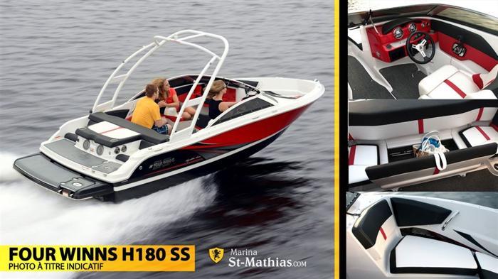 2015 Four Winns 180 SS - St-Mathias-Sur-Richelieu