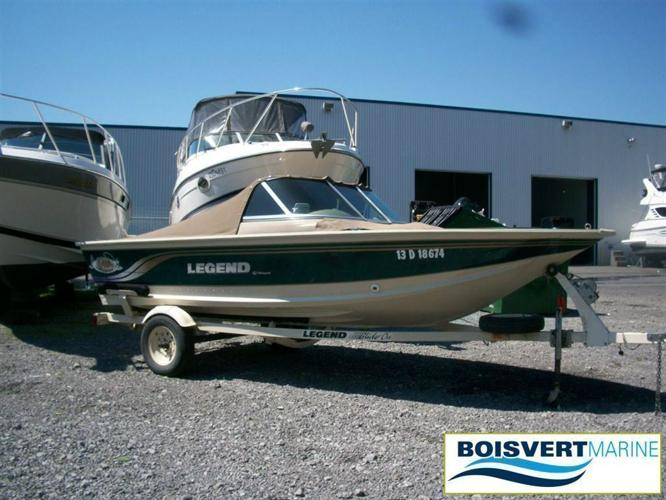 2000 Legend Boats Ltd V170, $18,500 - Sorel-Tracy