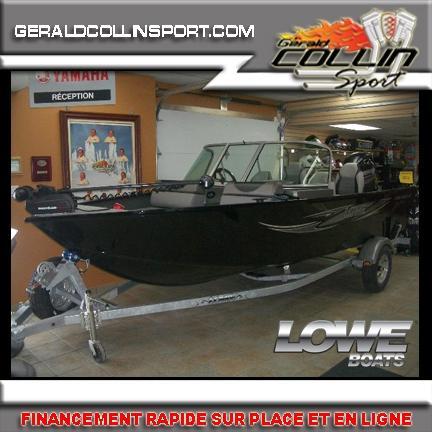 Lowe Boats FM165 PRO WT FISHING MACHINE, $22,999