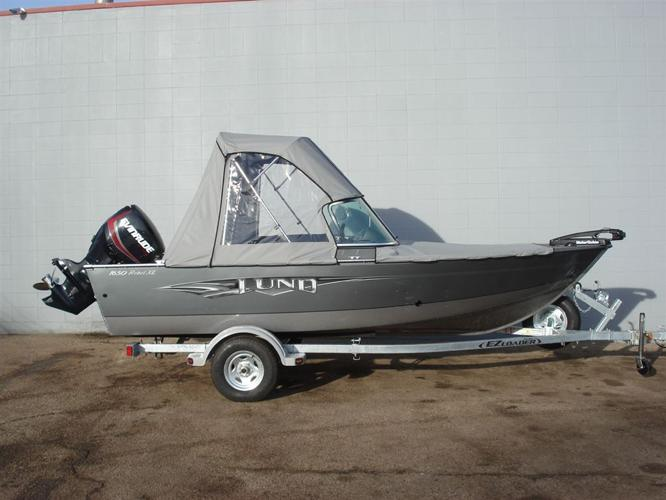 2014 Lund Boat Co Rebel 1650 XL Sport Silver - CAMROSE